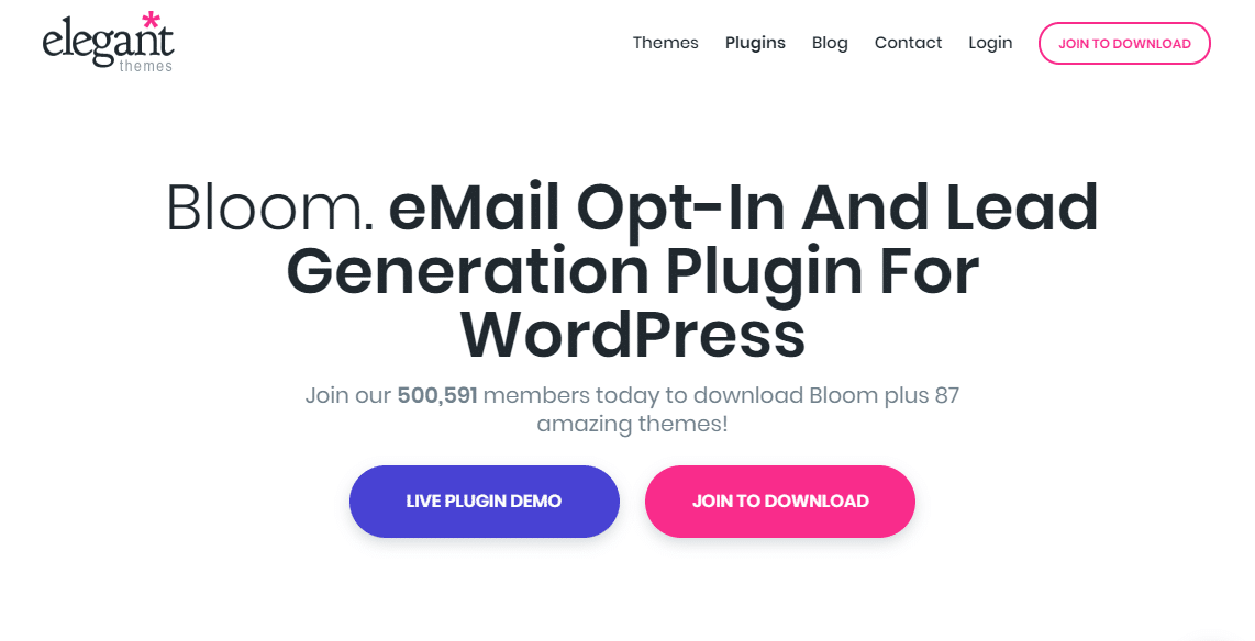 bloom-popup-plugin-for-wordpress