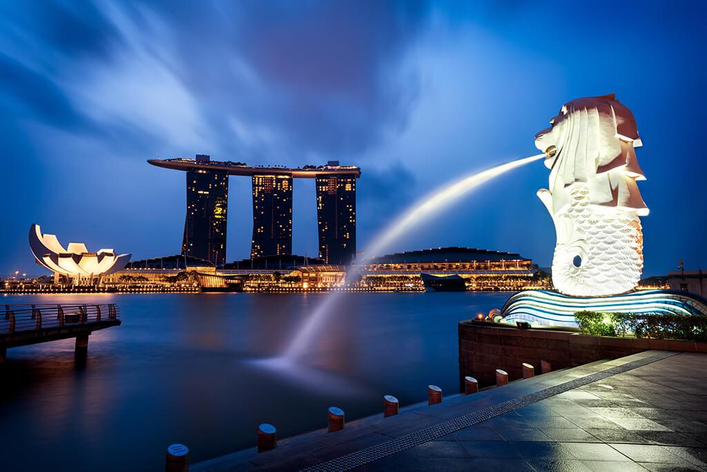 Merlion Park Singapore