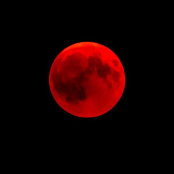 Strawberry Moon lunar eclipse