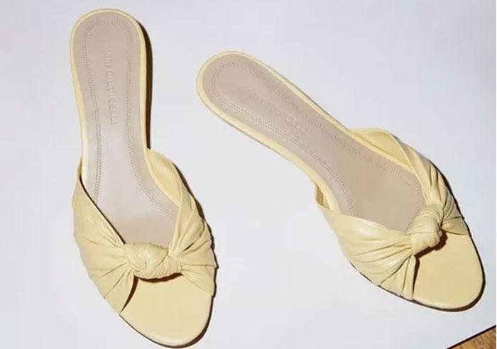 White color fashion women's summer shoes