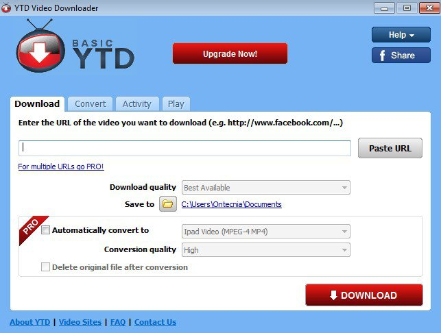 YTD Video Downloader & Video Converter