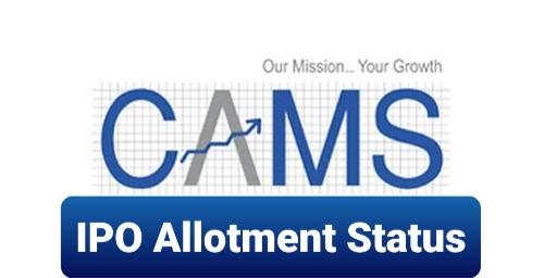 CAMS IPO Allotment Status
