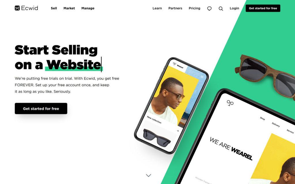 Ecwid eCommerce Platform