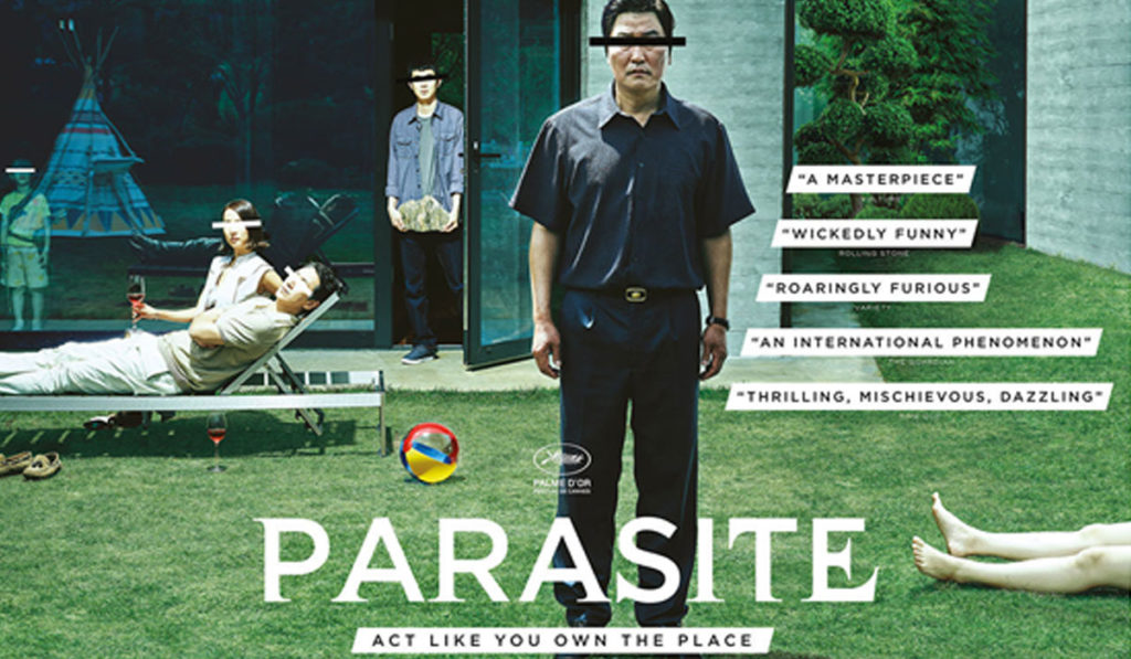 Parasite- the film won big at the Oscars