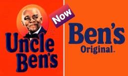 The Uncle Ben's renamed as Ben's Original.