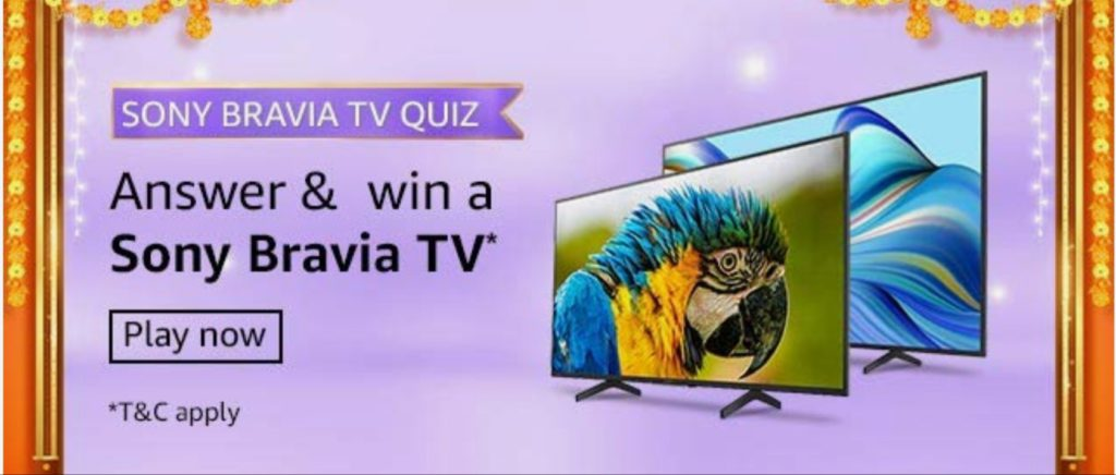 Sony Bravia Quiz