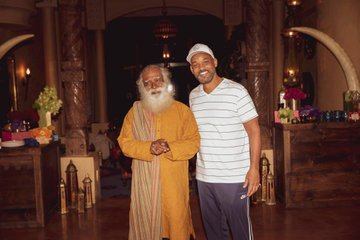 Hollywood star Will Smith recently spent some time with the founder of Isha Foundation, Sadhguru Jaggi Vasudev.