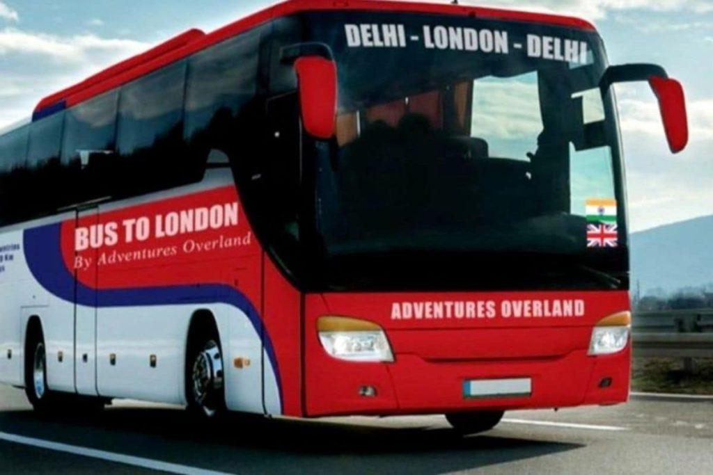 Delhi to London Bus Tour