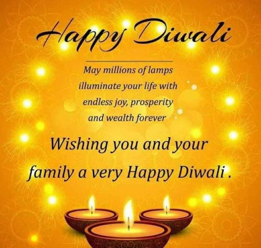 Happy Diwali 2020: Diwali Wishes, WhatsApp and Facebook Status