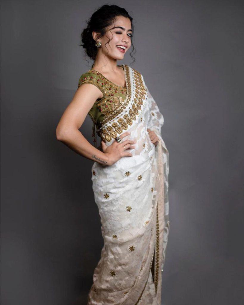 Rashmika Mandanna as the National Crush of India