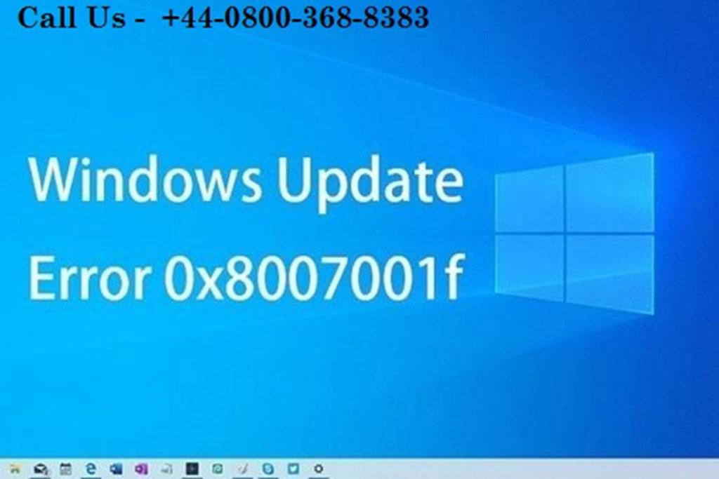 How to fix Windows Update Error 0x8007001F
