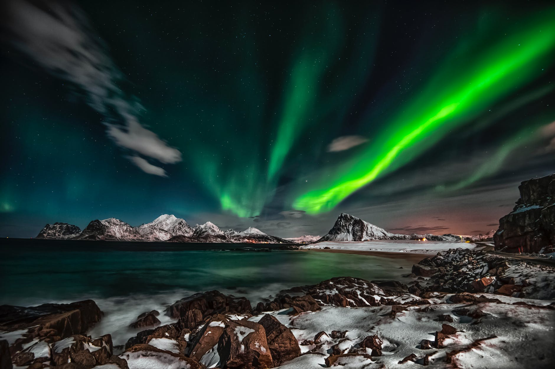 Norway: Best Place To See the Northern lights aurora borealis