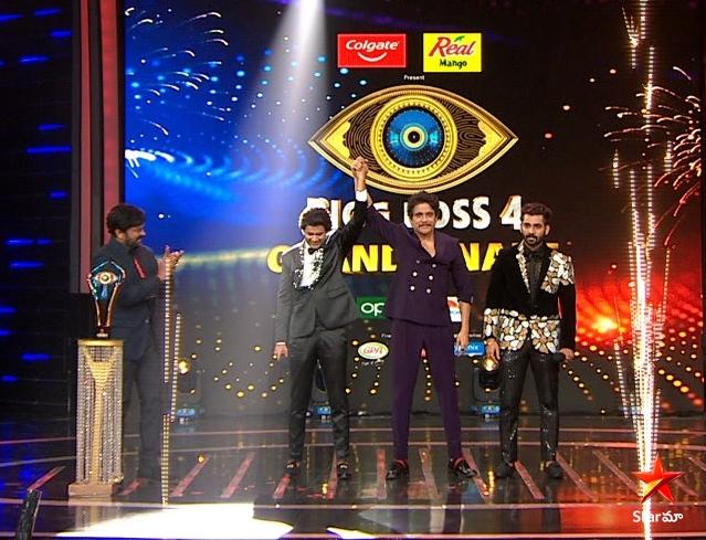 Bigg Boss 4 Telugu Winner is Abhiheet Duddala