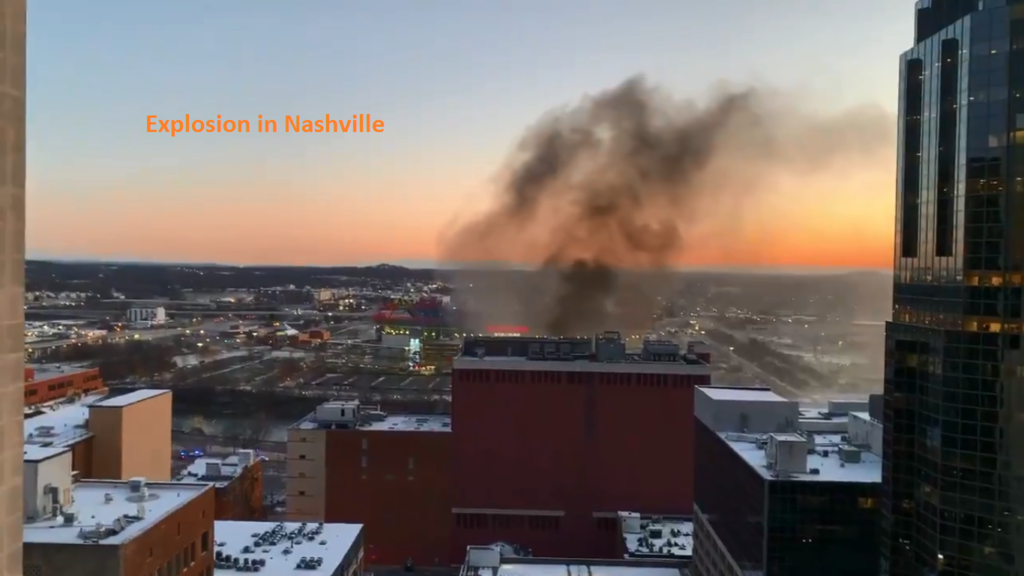 """Explosion in Nashville that damaged dozens of buildings is believed to be """"an intentional act,"""" police say"""