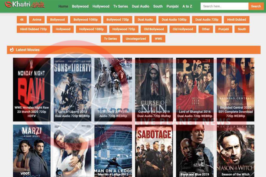 Khatrimaza - Hollywood & Bollywood HD Movies Download Torrent Website