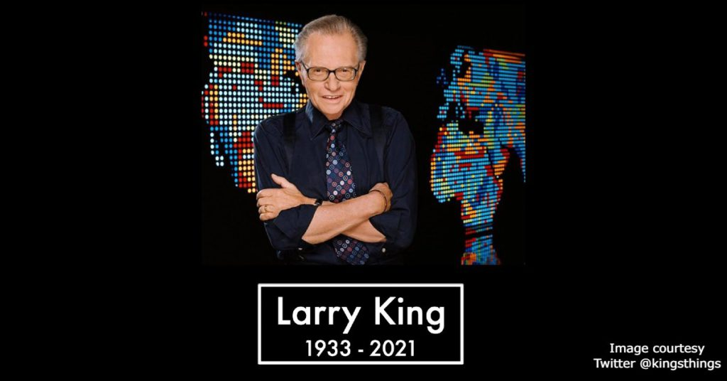 RIP Larry King